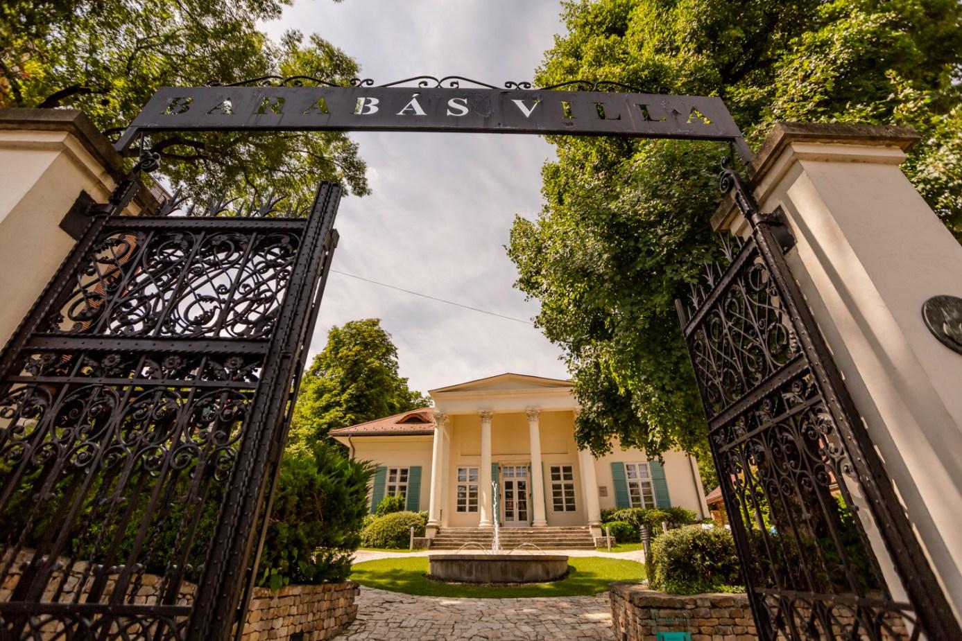 Barabás Villa - Magyarország legromantikusabb fotós helyszínei - NextFoto